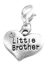 Little Brother Clip On Charm Handmade by Libby's Market Place - FREE P&P