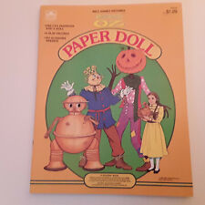 Vintage Golden Books Pre-cut Walt Disney's Return to Oz Paper Dolls 1985 New