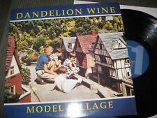 Dandelion Wine - Model Village rare small label English neo-psyche British LP
