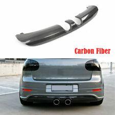 Carbon Fiber Rear Bumper Diffuser Lip Fit for Volkswagen VW Golf V MK5 R32 2008