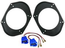 Adaptateur Haut-Parleur + Câble pour Mazda 626 Haut-Parleur 130mm latérale Bac