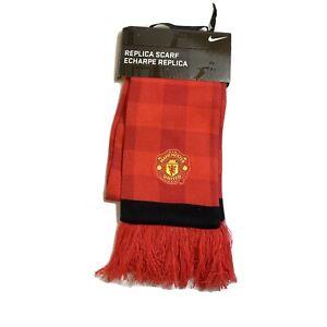 Nike Manchester United Season 2012 2013 Soccer Football Fan Team Scarf  New Red