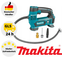 Makita Akku Kompressor MP100DZ 12V max. / 8,3 bar Druck Luftpumpe Auto Reifen