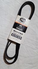 K060650 Gates Micro-V Belt Serpentine Rubber 072053009255 21mm x 1665mm
