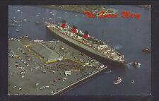 USA 1968 SHIP QUEEN MARY AT LONG BEACH CALIFORNIA POSTCARD TO PITTSBURGH