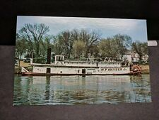 Steamboat W. P. SNYDER, OHIO River Naval Cover Unused Postcard