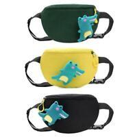 Alligator Doll Decor Women Kids Waist Fanny Belt Packs Nylon Chest Bags HOT