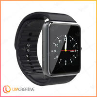 GT08 Smart Watch Phone & Camera Bluetooth Android BLACK 2019