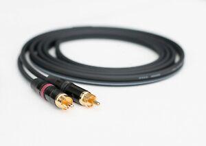 Replacement RCA Cable Technics SL1200 MK2 SL1210    Mogami Pro Grade   Neutrik
