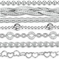 Amberta Pulsera en Auténtica Plata De Ley 925 Brazalete Precioso para Mujer