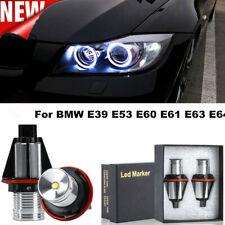 HOT Angel Eyes Halo 6000k LED Ring Marker Light Bulbs For BMW E39 E53 E60 E61 E6