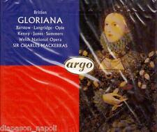 Britten: Gloriana / Barstow, Langridge, Kenny, Jones - CD