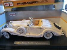 Maisto 1:18 Mercedes 500 E Type convertible in box. Flawless