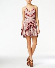 NWT Jessica Simpson Nicola Printed Halter Fit & Flare Dress Size M (Macy's)