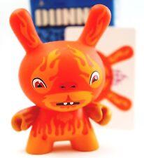 "Kidrobot Dunny 3"" Azteca Series 1 Hula Hula Flame Chase Judas Vinyl Art Figure"