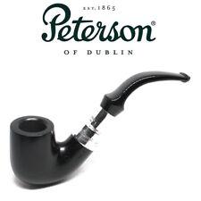 NEW Peterson - Black Sandblast Spigot - 338 - Sterling Silver Pipe