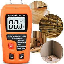 Digital LCD Wood Moisture Meter Timber Paper Humidity Detector Display Tester