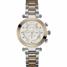 GUESS GC Y05002M1 Lady Chic Damenuhr Rotgold/ silber Edelstahl