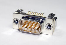 9pol. D-Sub Stecker SMD, Male, Sub-D; DELTRON; DTS09PYCSMD 2 UN-TR, 5er Pack
