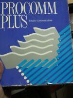 Vintage Procomm Plus Internet Software Box, Manuals & Disks NEW open box 2.0