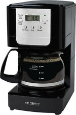 Mr. Coffee - Advanced Brew 5-Cup Coffee Maker - Black/Chrome