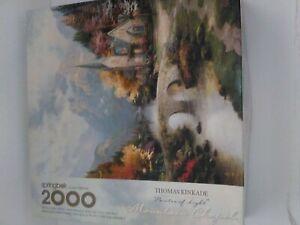 Springbok Thomas Kinkade Mountain Chapel 2000 Jigsaw Puzzle