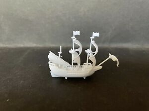 CEREAL TOY R&L 1979 OLD TIMERS MAYFLOWER 1620 - WHITE