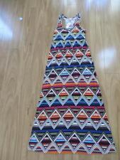 Polyester Geometric Petite Dresses for Women