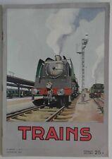 Trains n°1- 1944 : Revue Belge - Les vrais chemins de fer - Réseau d'amateur