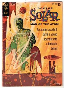 Doctor Solar Man of the Atom #1, Very Good - Fine Condition