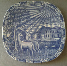 RORSTRAND SWEDEN JULEN 1980 LIMITED EDITION CHRISTMAS PLATE GUNNAR NYLUND BOXED