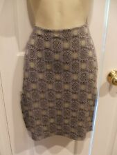 von mozart geometric print  STRAIGHT SKIRT SIZE jr. medium- 7-9
