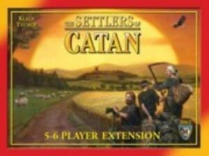 Mayfair Boardgame Settlers of Catan - 5-6 Player Extension (Revised Ed) NM