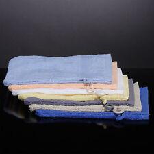 Waschlappen 5St 400 g/qm Waschhandschuh Gelb 100% Baumwolle