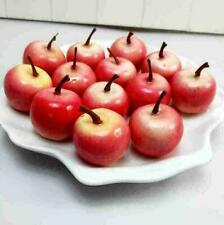 Home Garden Kitchen Artificial Decorative fruit Apple pears Plastic Decor