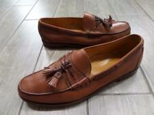 SEBAGO tassel loafers FRENCH CALFSKIN shoes 13 D carmel brown MAINE USA