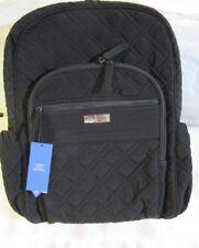 VERA BRADLEY Campus Tech Backpack Work College School CLASSIC BLACK