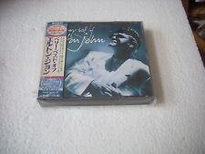 ELTON JOHN - THE VERY BEST OF cd japan jewel case opened