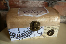 Harry Potter inspired After all this time Always trinket box, Wedding gift
