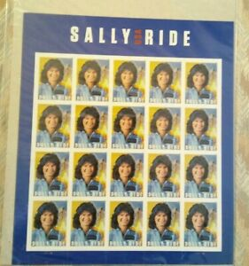 SEALED!! SALLY RIDE USA STAMP FOREVER FULL SHEET STAMPS SPACE ASTRONAUT