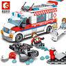 Sembo Blocks DIY Boys  Kids Building Toys Girls Puzzle Ambulance 601303