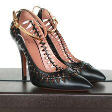 ALAIA $1,620 cut out pointed toe high heel pumps Azzedine Alaïa shoes 39/9 NEW
