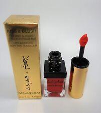 Yves Saint Laurent Lip Baby Doll Kiss and Blush Mat #4 Orange Fougueux 10ml New