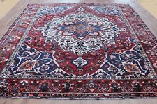 OLD WOOL HAND MADE PERSIAN ORIENTAL FLORAL RUNNER AREA RUG CARPET 392X310 CM