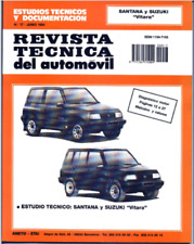 Manual de Suzuki Santana y Vitara En CD Workshop Reparation.
