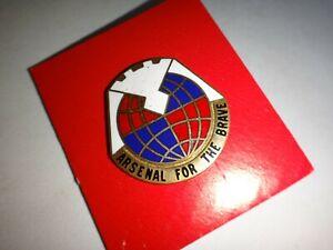 États-Unis Armée Unité Crest Matériel Command Distinctif Unité Insignes