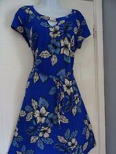 Impresionante Vestido De Té Verano señoras Dorothy Perkins talla 16
