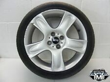 "BMW MINI CABRIO R52 COOPER 2004 17"" ALLOY WHEEL WITH RUNFLAT TYRE #4"