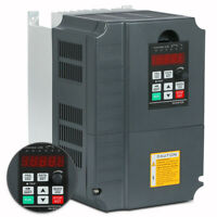 220V VARIABLE FREQUENCY DRIVE INVERTER VFD 7.5KW 10HP 34A  FOR CNC GOOD ITEM