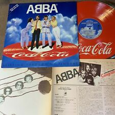 ABBA Slipping Through My Finger JAPAN-ONLY COLA PROMO LP RARE BANNED 1st Press